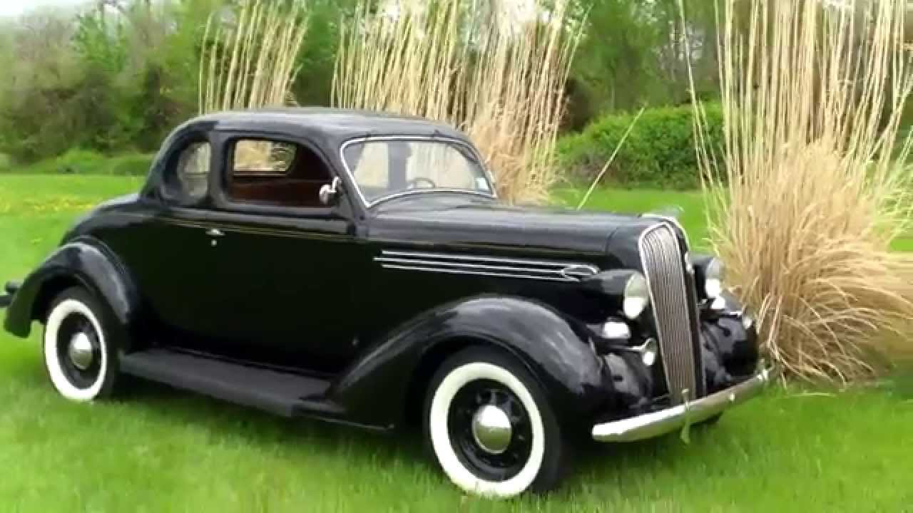 1936 plymouth 5 window coupe youtube