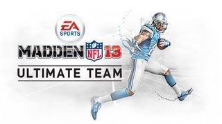 Madden NFL 13| MUT | CTOTW Challenge| End of Game and Pack Opening Thumbnail