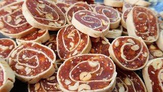 Món Ăn Ngon - KẸO CHUỐI CUỘN, kẹo chuối phồng dẻo ngon tuyệt vời