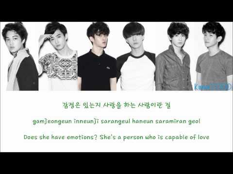 EXO-K - Machine [Hangul/Romanization/English] Color & Picture Coded HD