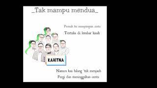 Kahitna Tak Mampu Mendua Cover