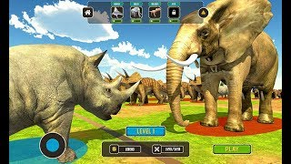 Wild Animals Kingdom Battle Simulator 2018 Android Game Play By Gamtertainment