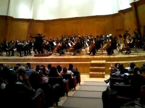 Rienzi overture concierto clausura curso de verano 2013 for Sala ollin yoliztli
