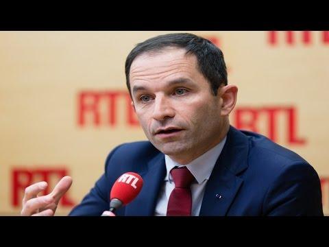 Benoît Hamon, invité de RTL, vendredi 27 janvier 2017