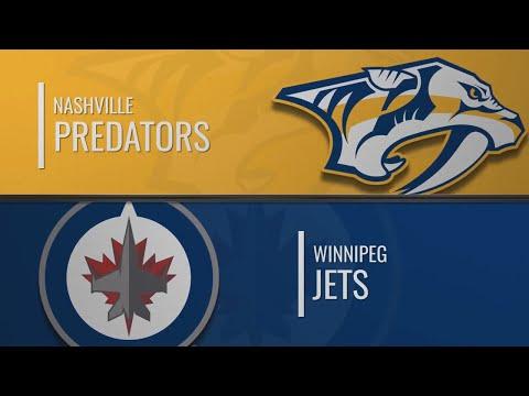 Нэшвилл - Виннипег | НХЛ обзор матчей 12.01.2020 | Nashville Predators Vs Winnipeg Jets