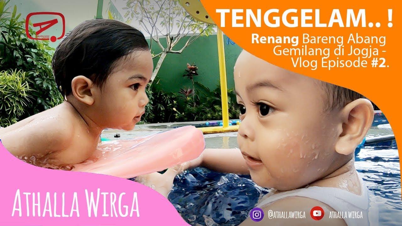 🌊 Tragedi Tenggelam Renang Bareng Abang Gemilang di Jogja - ☀️🌈✈️ Vlog Episode #2
