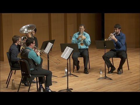 UNT Center Brass Quintet: Ingolf Dahl - Music for Brass Instruments