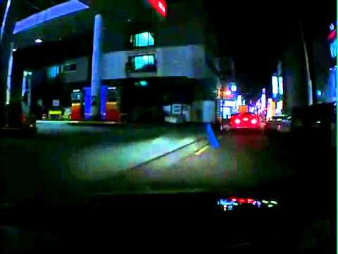 아몬 SIV-M9 야간 주행영상