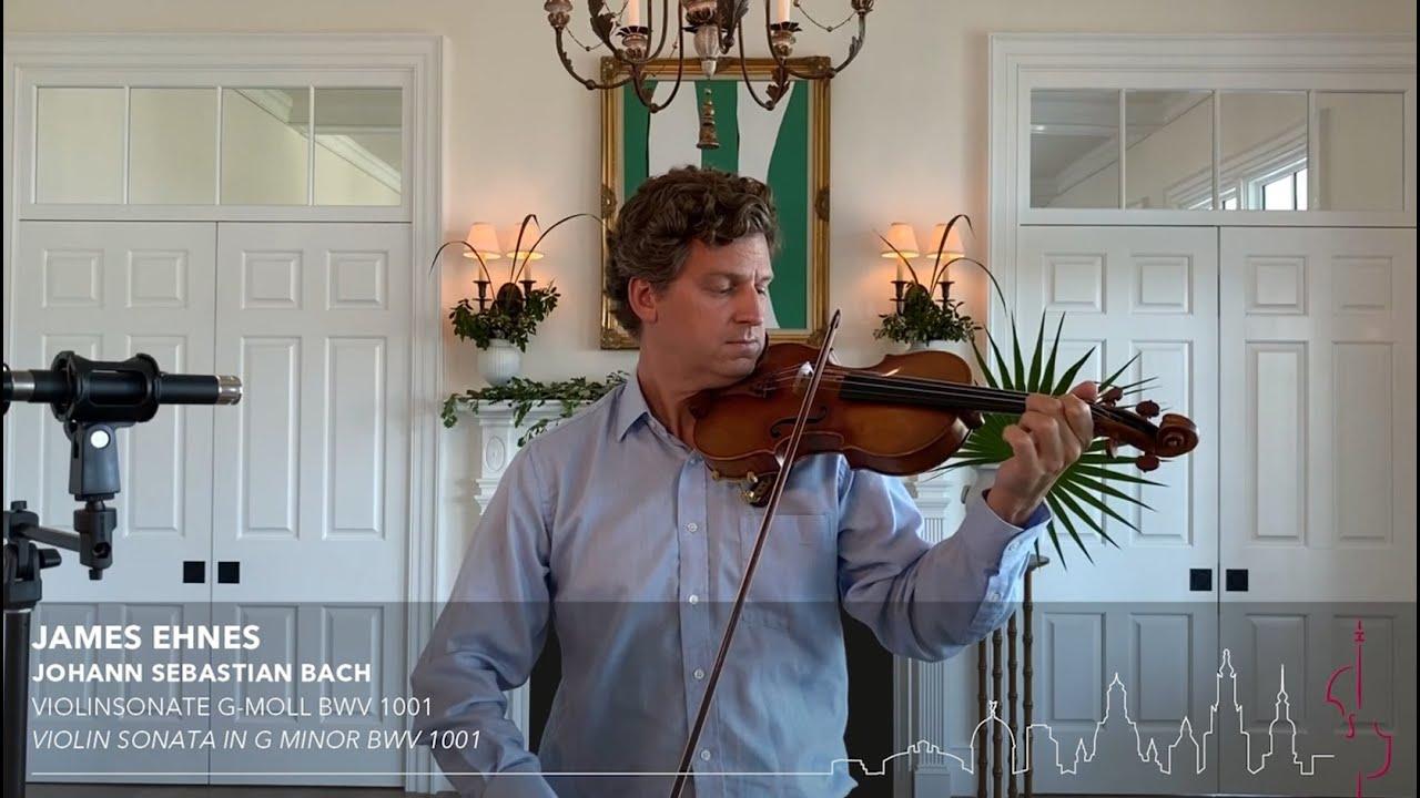 Artwork representing James Ehnes - Bach Violin Sonata No. 1