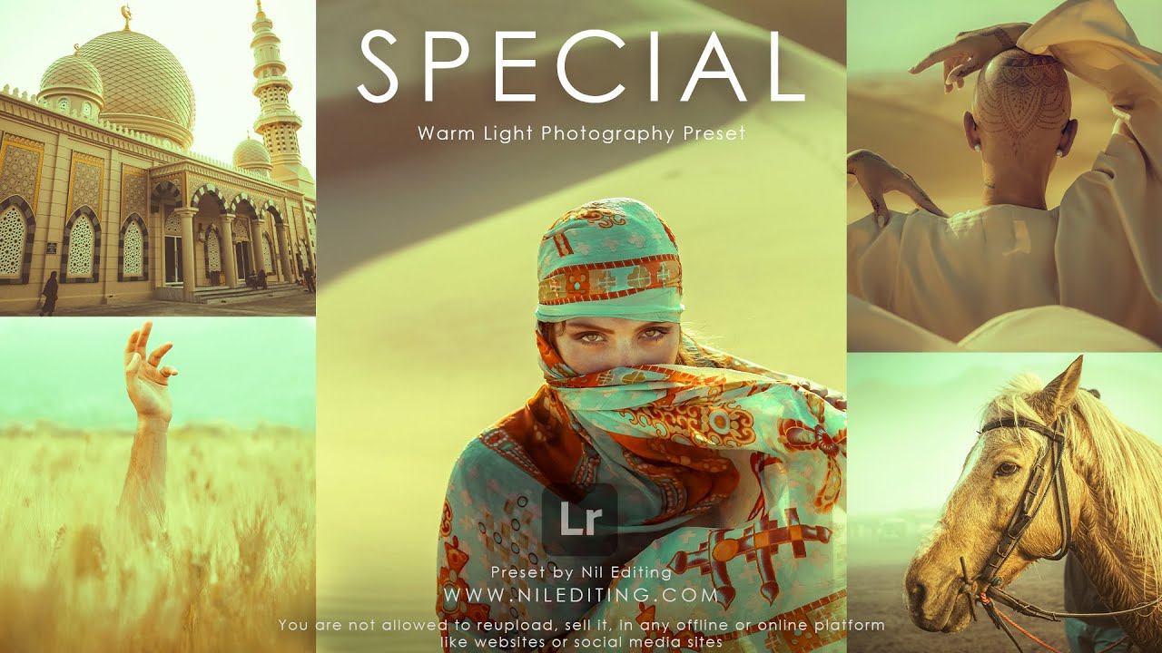 Special Warm Light Photography Preset   Mobile Lightroom Presets DNG & XMP Free Download