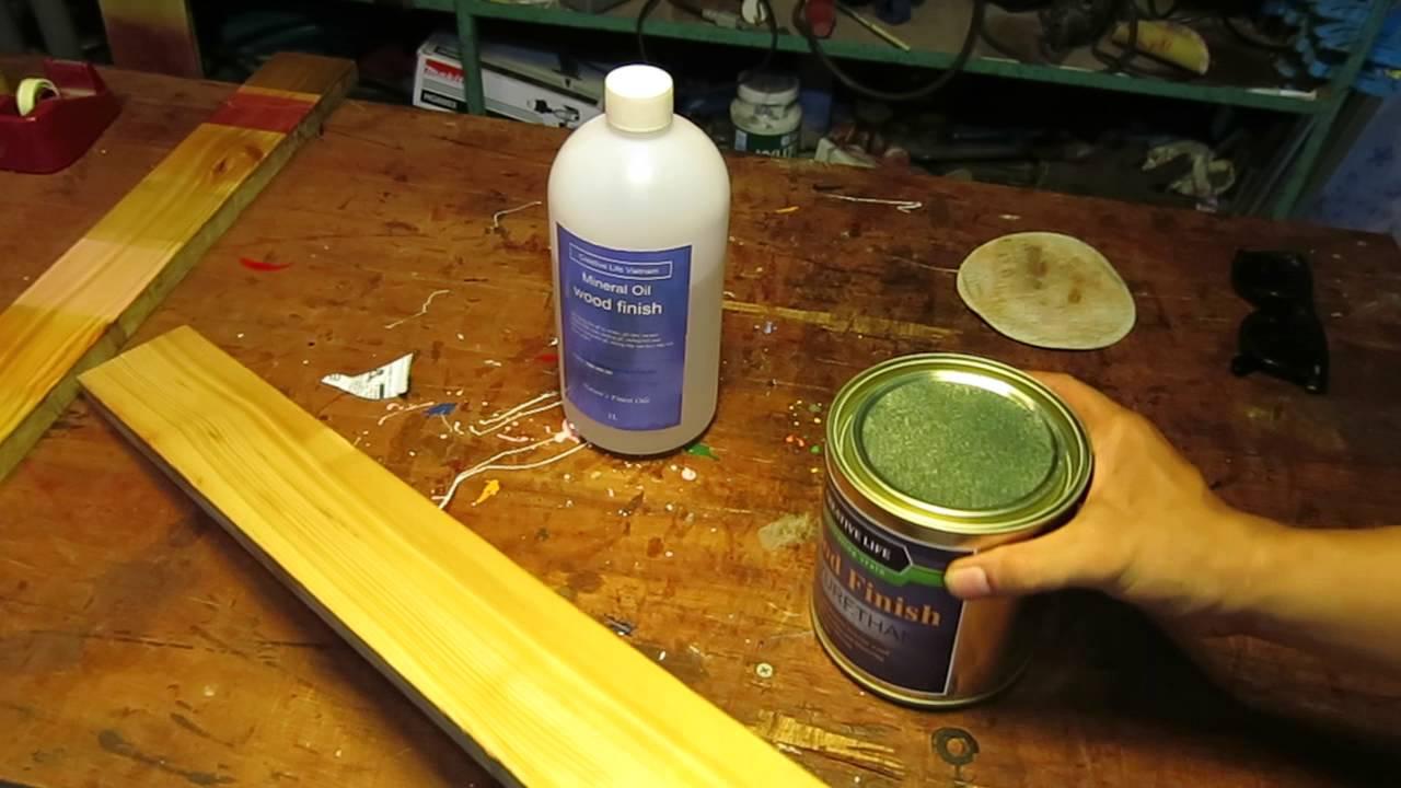 Quay video quảng cáo sơn gỗ bóng gương không cần lót, siêu nhanh siêu tiết kiêm