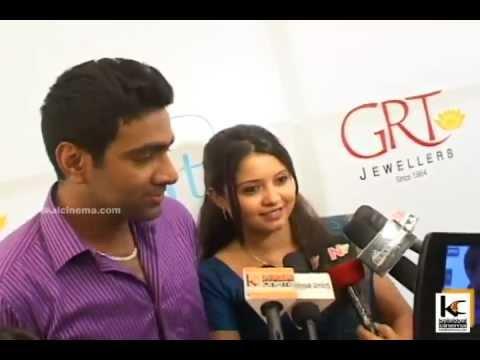 Ashwin Launches GRT Platinam Bangles