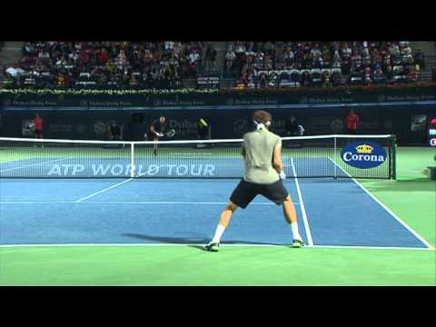 Dubai 2014 Tuesday Hot Shot Djokovic