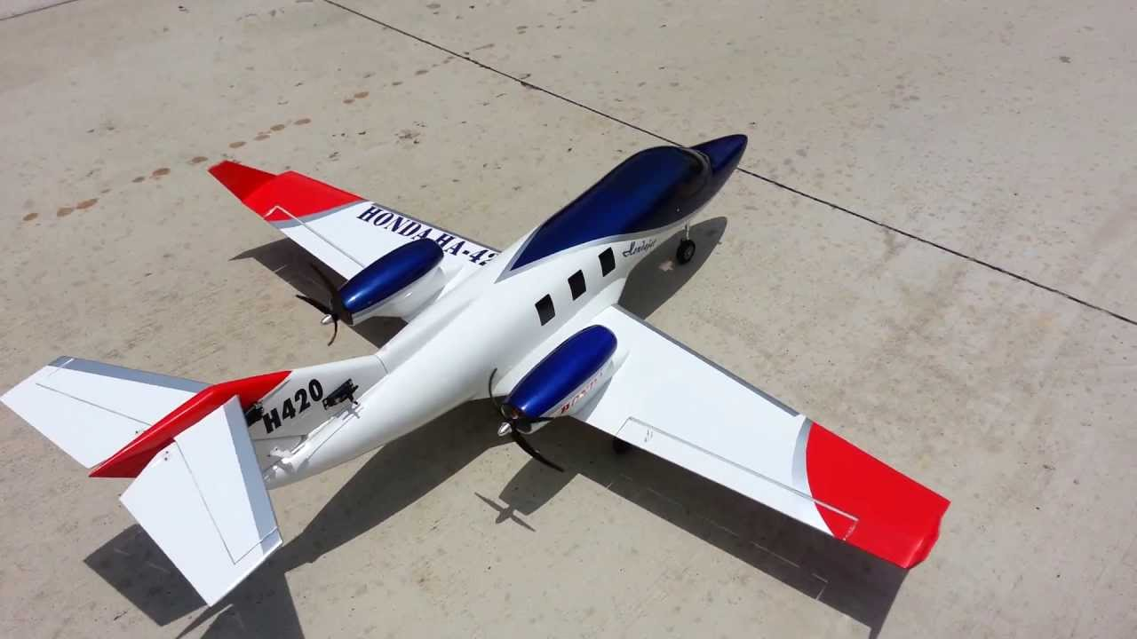 Rc ha 420 honda jet taxi testing youtube for How much is a honda jet