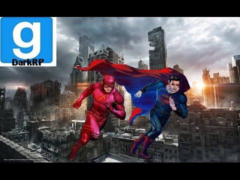 GMOD DARKRP #1- FLASH ET SUPERMAN