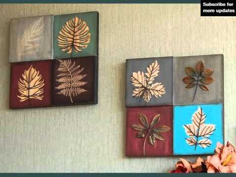 Decoration Ideas & Collcetion | Metal Wall Decor Leaves