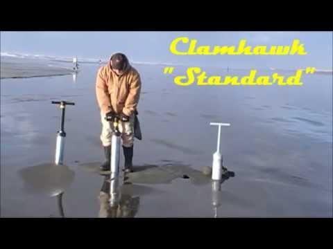 Clamhawk - 2012 Razor Clam Gun Debut