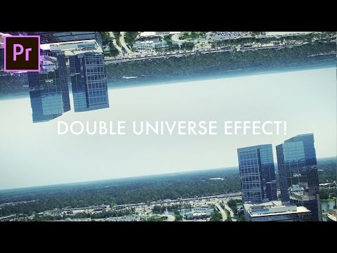 How to create a DOUBLE SKY Parallax Universe Effect! (Adobe Premiere Pro CC 2017 Tutorial)
