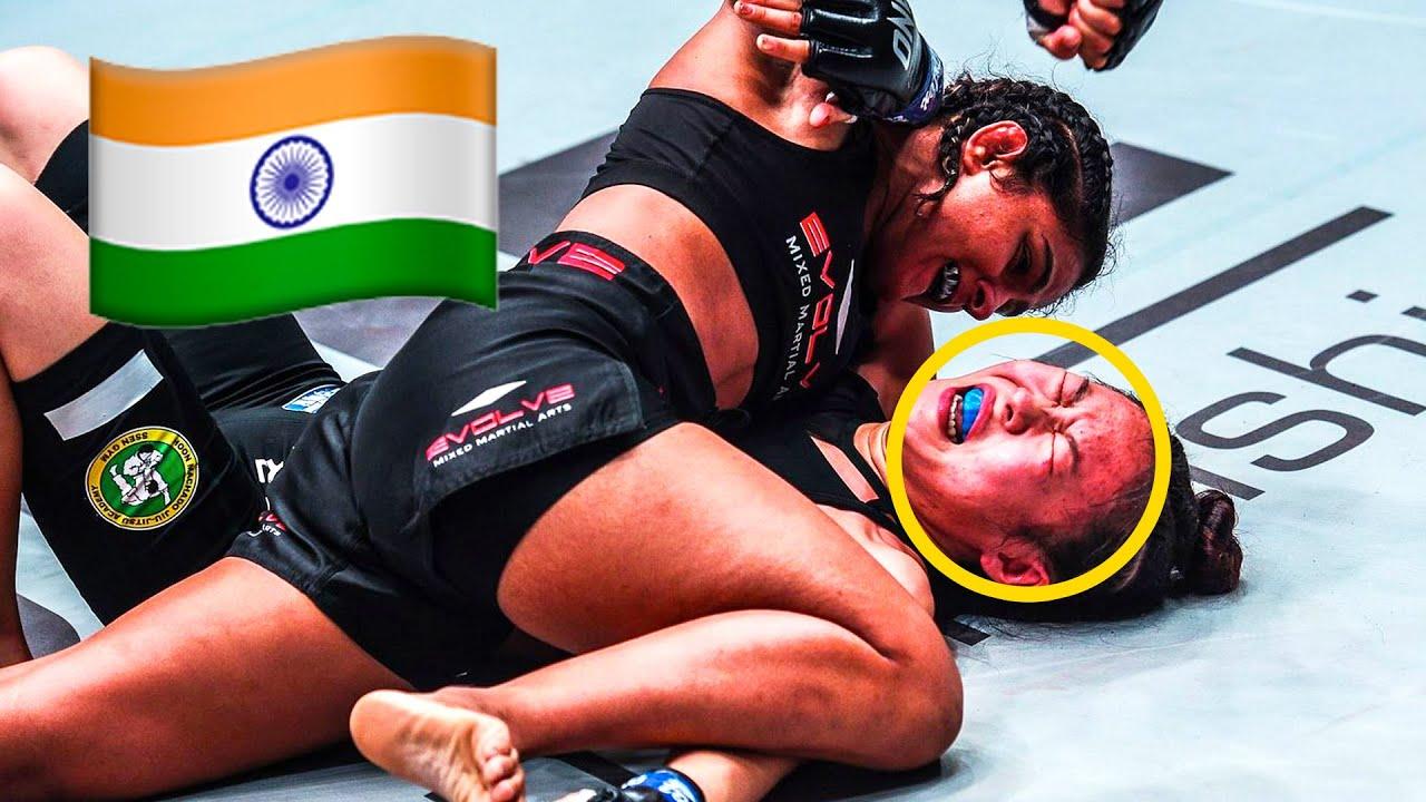 Ritu Phogat 🇮🇳 MAULS Opponents 😱