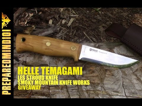 Helle Temagami (Les Stroud's Knife) First Impressions/GAW - Preparedmind101