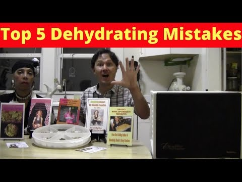 Top 5 Most Common Dehydrating Mistakes & How To Avoid Them