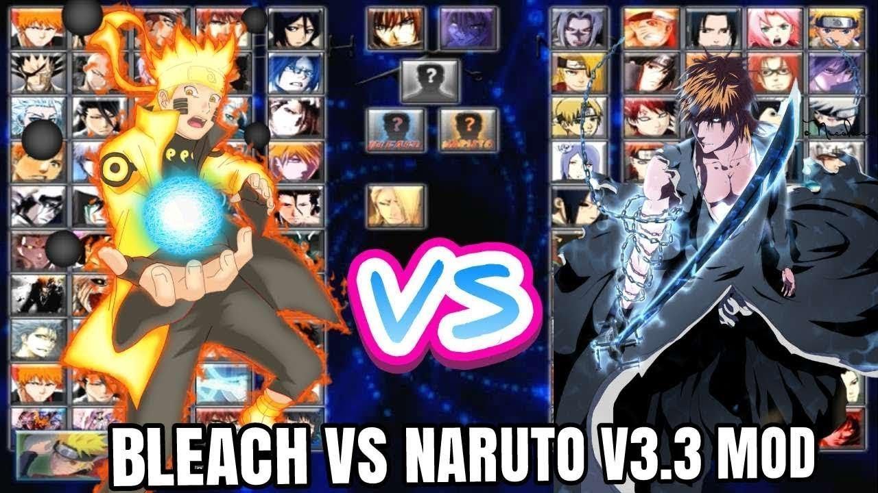 Naruto Bleach Vs Naruto 33 Modded Youtube