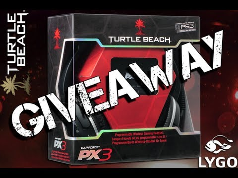Turtle Beach Ear Force PX3 Wireless Gaming Headset [GIVEAWAY]