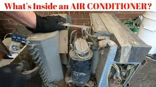 Scrapping an Air Conditioner for Copper & Better than Scrap Steel Value