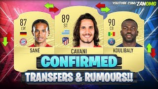 FIFA 20 | NEW CONFIRMED TRANSFERS & RUMOURS!!