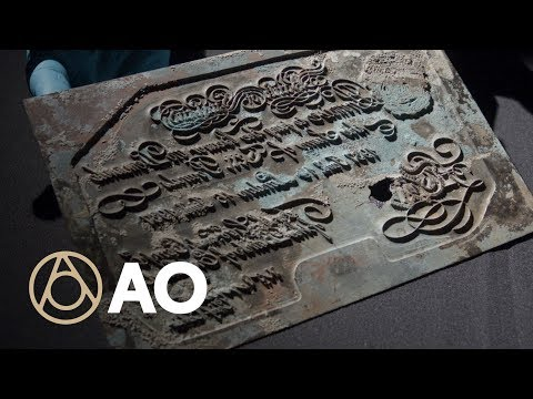 The Nazi Printing Plate That Almost Destroyed WWII Britain | Object of Intrigue | Atlas Obscura
