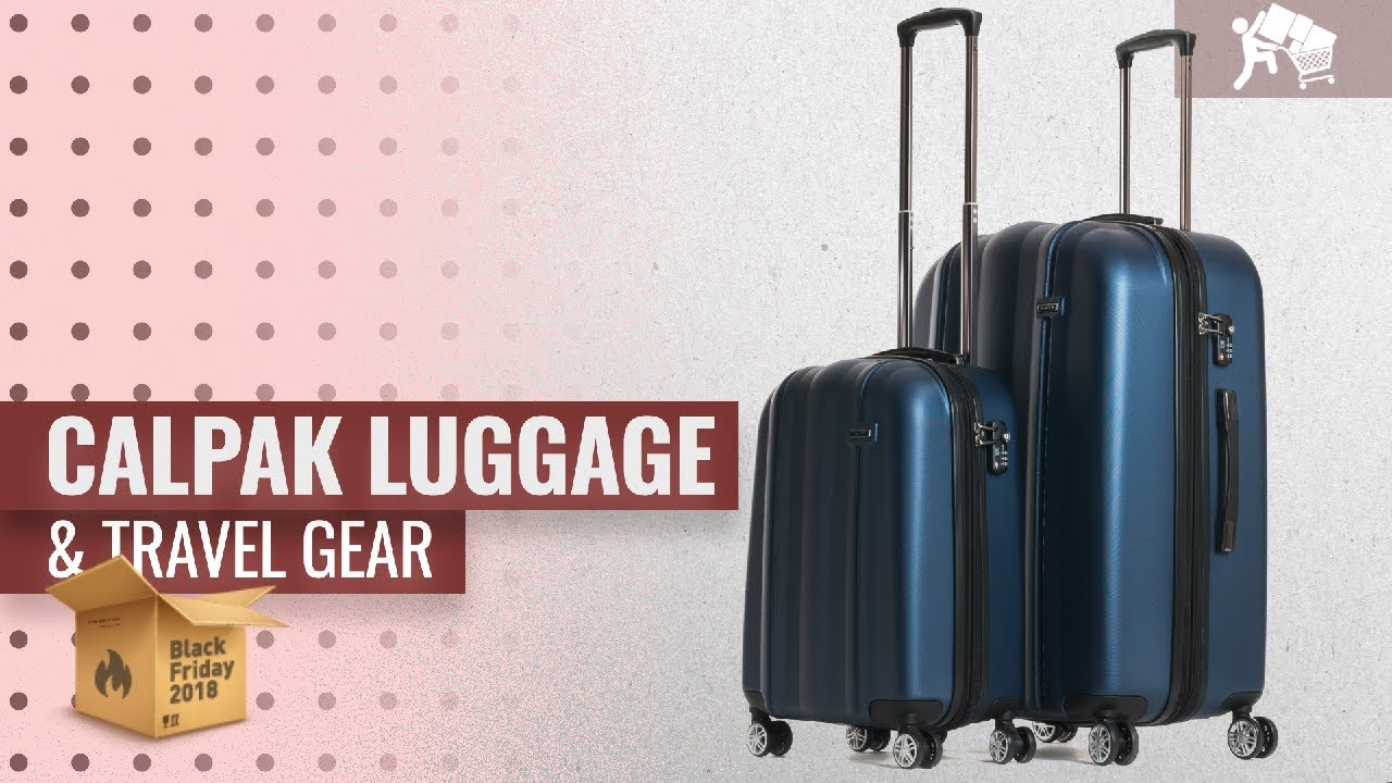 2018 Travel Gear Save Big On Calpak Luggage Travel Gear Early Black Friday Deals