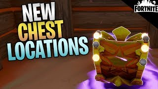 FORTNITE - New Super Stash Chest Locations (Real Tanks In Fortnite!)