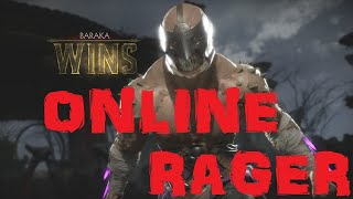 MK11: Online Match: SORE LOSER WHINES AND COMPLAINS