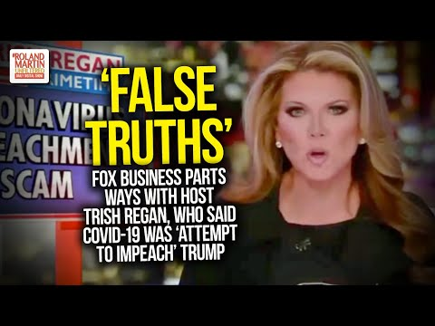 Fox Business Parts Ways With Host Trish Regan, Who Said COVID-19 Was 'Attempt To Impeach' Trump