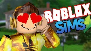 I LOVE ROBLOX SIMS!!! AWESOME [BLOXBURG] #1