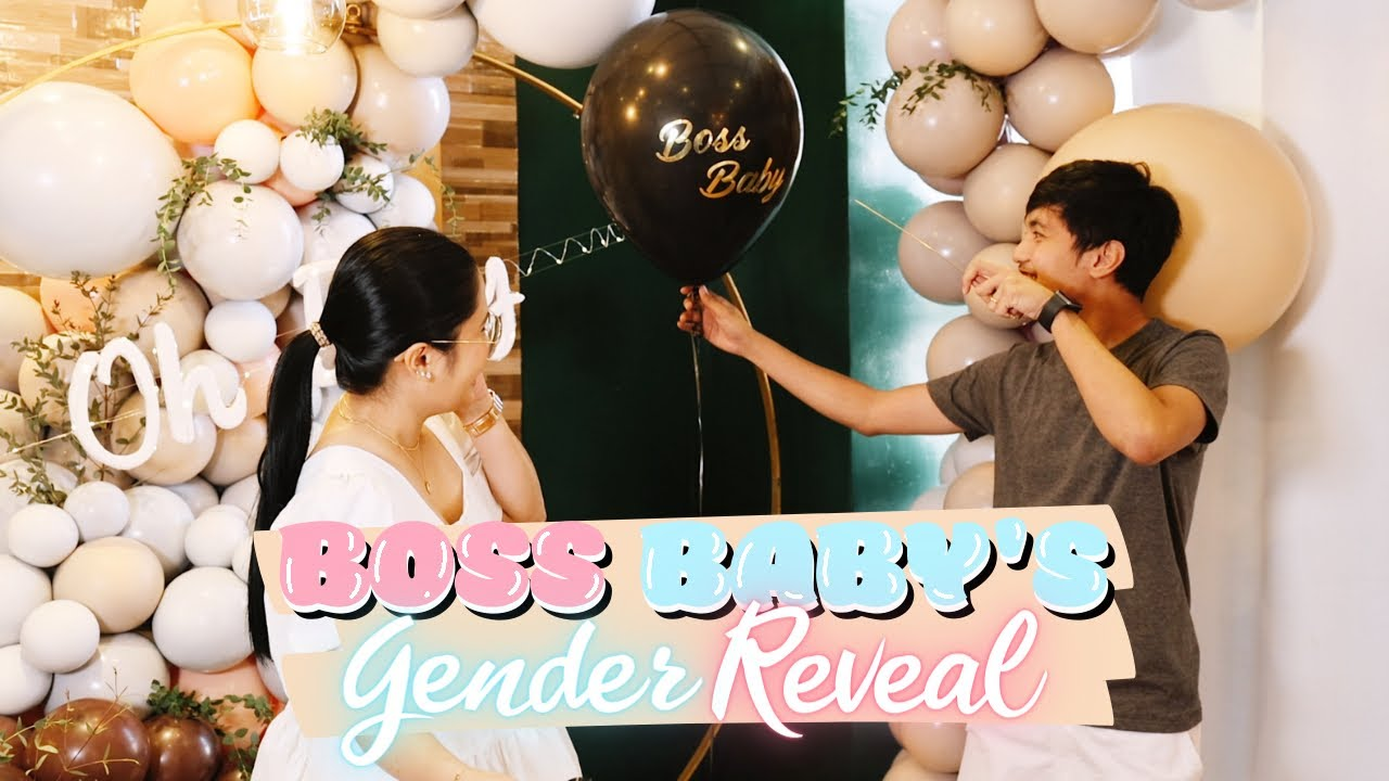 Boss Baby's Gender Reveal! (April 7, 2021.) | Anna Cay ♥