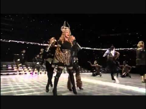 Madonna - Half Time Show (part 1) - Super Bowl 2012 HD