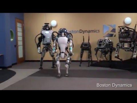 CyberDyne Systems Model T-0.5 Beta - Terminator-Style Atlas Robot