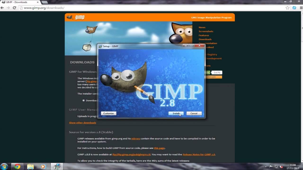 Gimp 2. 10. 8 free download software reviews, downloads, news.