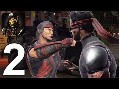 Mortal Kombat Mobile - Gameplay Walkthrough Part 2 - Towers 6-8 (iOS, Android)