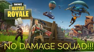 I Won Squads On Fortnite Battle Royale Without Taking Damage