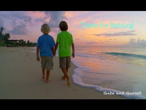 Grand Cayman - Cayman Islands Vacation 2! | Gabe and Garrett