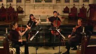 "Attacca Quartet plays Janáček No. 2 ""Intimate Letters"" - Third Movement"