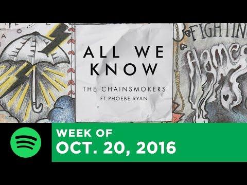 Top 10 Songs - Week Of October 20, 2016 (Spotify Global)