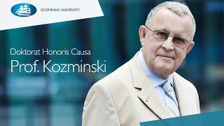 Doktorat Honoris Causa - Prof. Kozminski