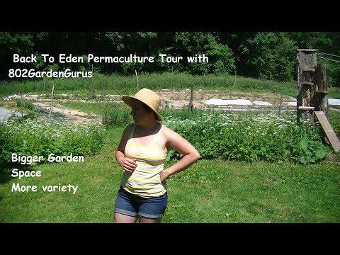 NEW 2017 Back To Eden Garden Transformation - TOUR OUR GARDEN