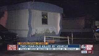 Two-year-old killed in Polk County trailer park