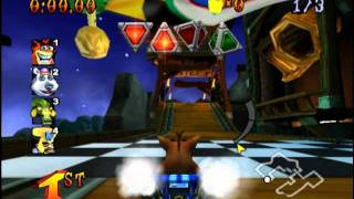 Crash Nitro Kart (PS2 Gameplay)