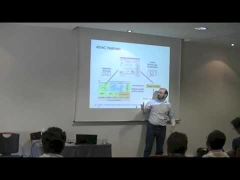 4DIAC - A Framework for Distributed Industrial Automation and Control - EclipseCon France 2013