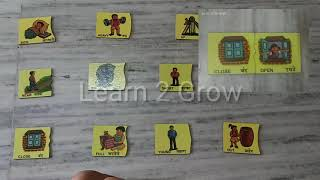 Learn opposite words ! Kids vocabulary ! opposite words for kids ! Opposite puzzle